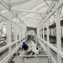 Аэропорт Домодедово — Защита металлоконструкции